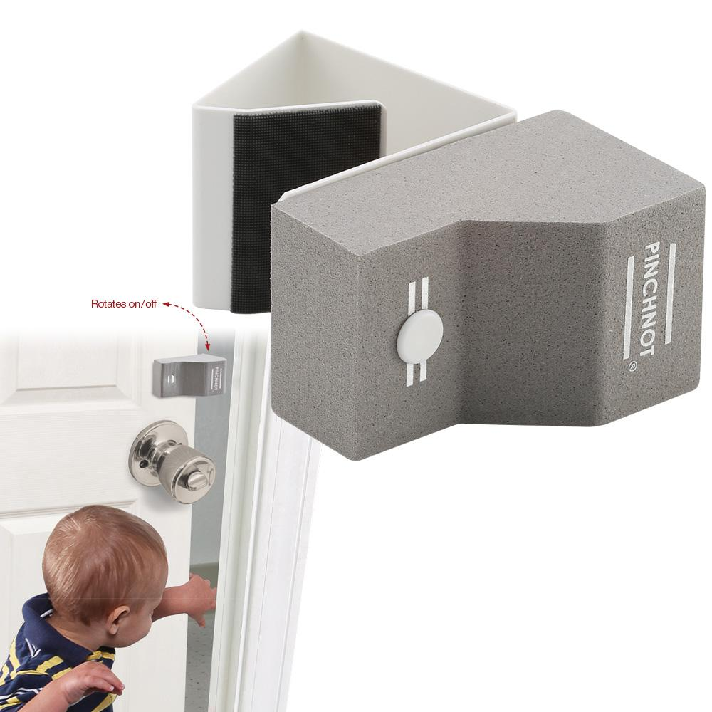 pinch not door finger safety guard slip on foam bumper stop flips