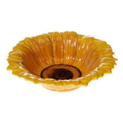 French Sunflowers 3-D Serving Bowl