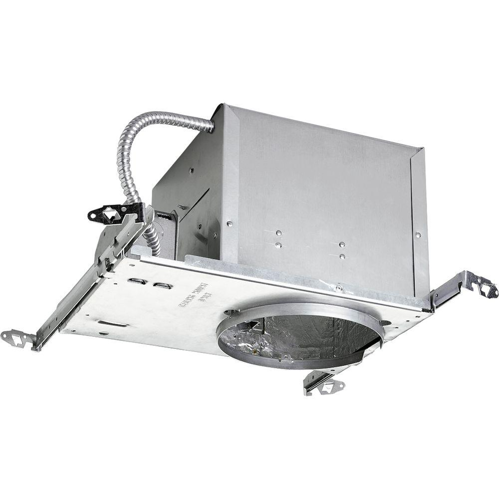 Fluorescent Light Housing: Lithonia Lighting 6 In. Recessed Horizontal Double Twin
