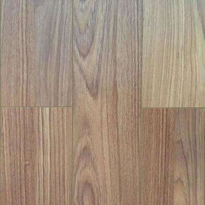 Golden Teak 12 mm Thick x 4.96 in. Wide x 48 in. Length Click-Locking Laminate Flooring Plank (16.48 sq. ft. / case)