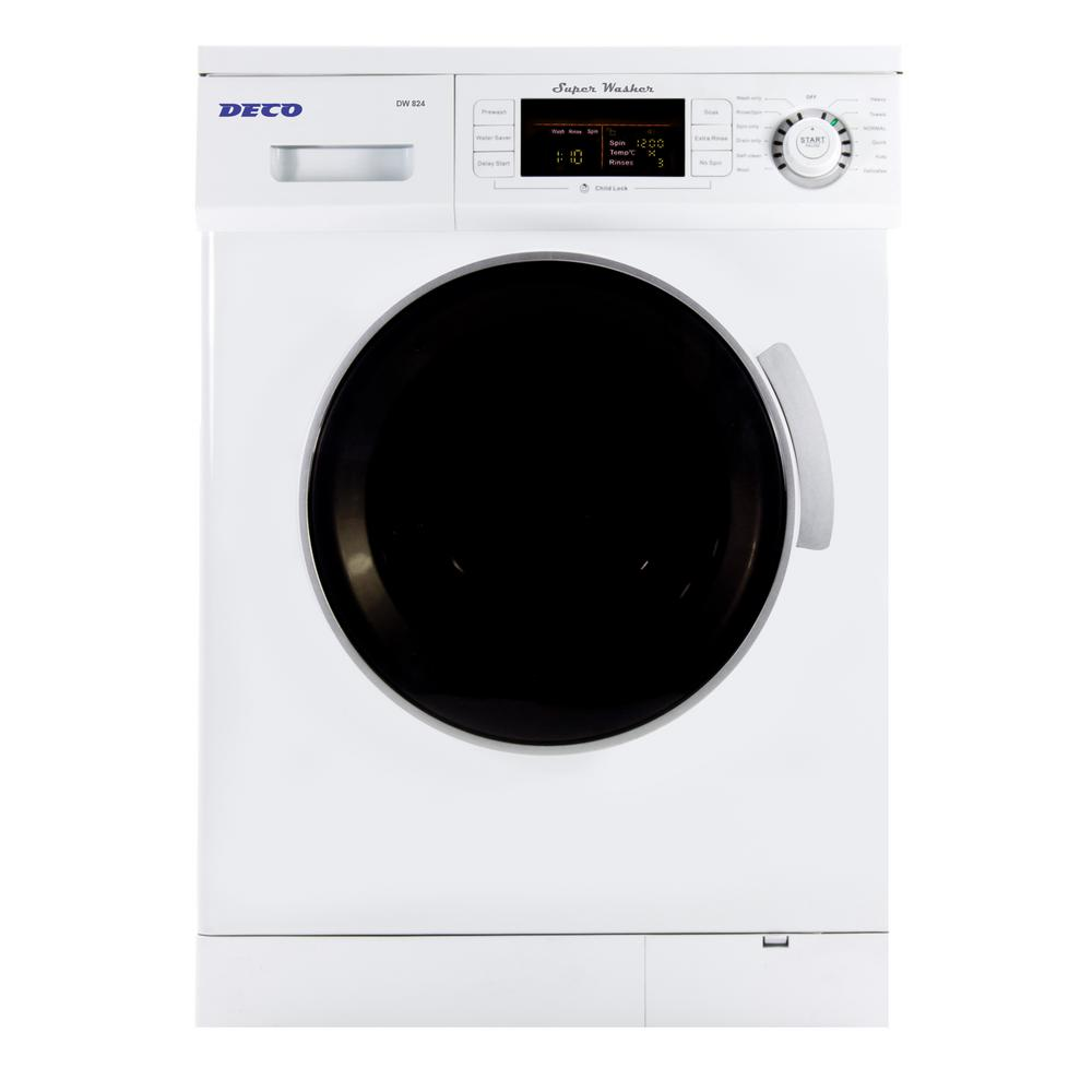 high efficiency front load washer in whitedw 824 the home depot