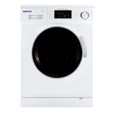 1.57 cu. ft. High Efficiency Front Load Washer in white
