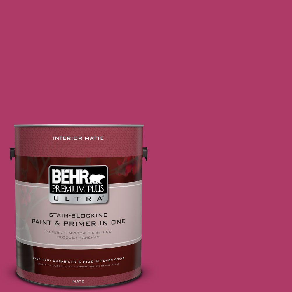 1 gal. #HDC-SM16-04 Bing Cherry Pie Flat Interior Paint
