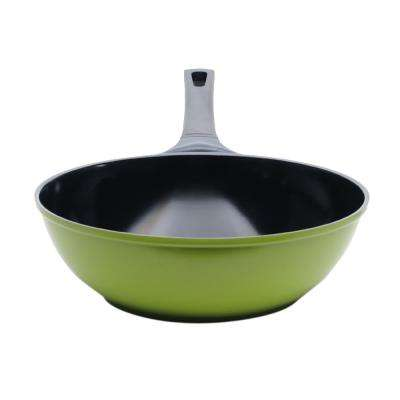 Green Earth Aluminum Frying Pans with Nonstick Coating