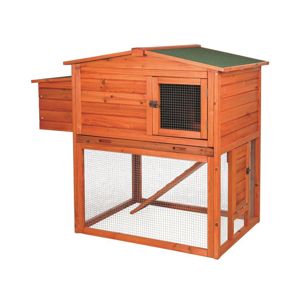 TRIXIE 2-Story Chicken Coop with Outdoor Run