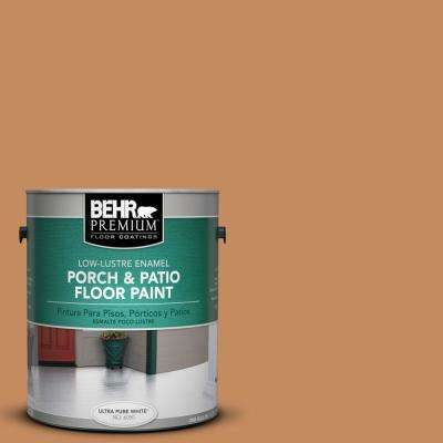 1 gal. #PPU3-13 Glazed Ginger Low-Lustre Porch and Patio Floor Paint