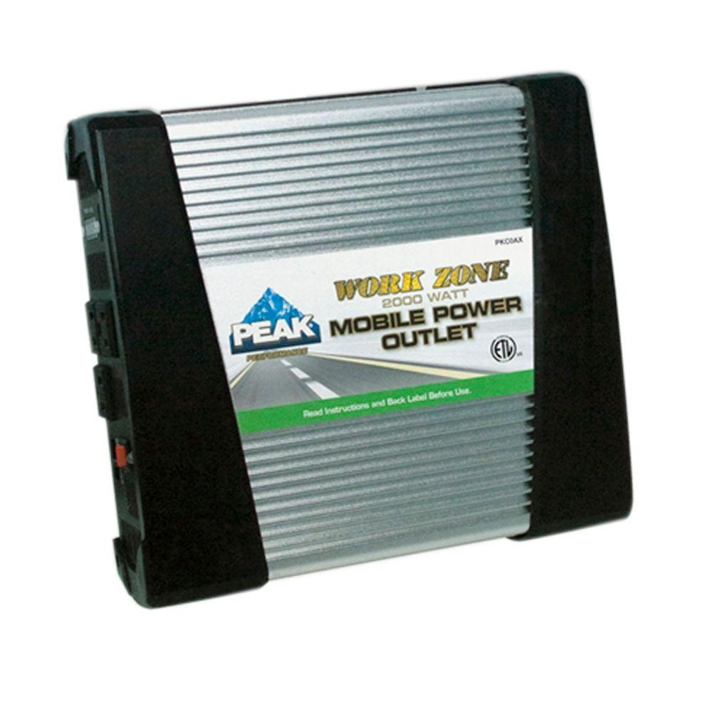 PEAK 2000-Watt Mobile Power Outlet