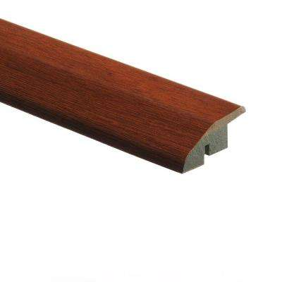 High Gloss Natural Jatoba 1/2 in. Thick x 1-3/4 in. Wide x 72 in. Length Laminate Multi-Purpose Reducer Molding