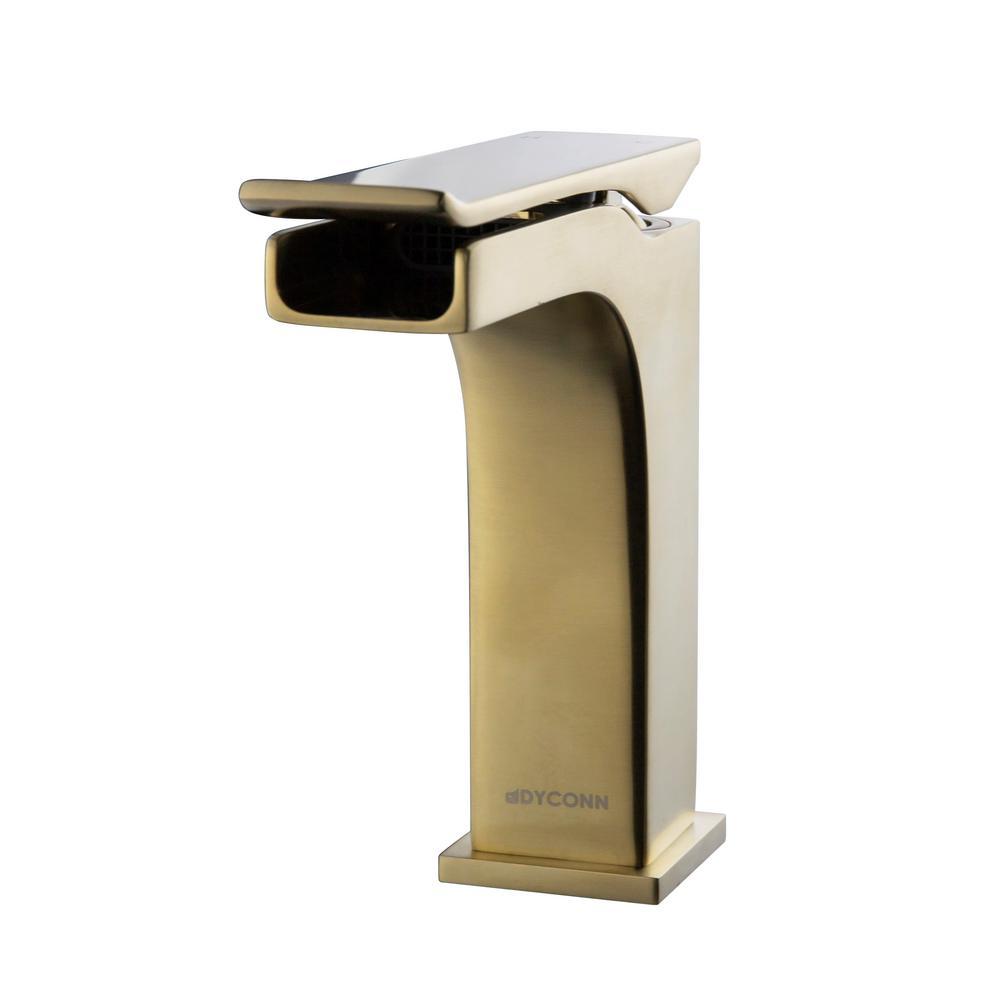 Dyconn Kai Single Hole Handle Bathroom Faucet In Br