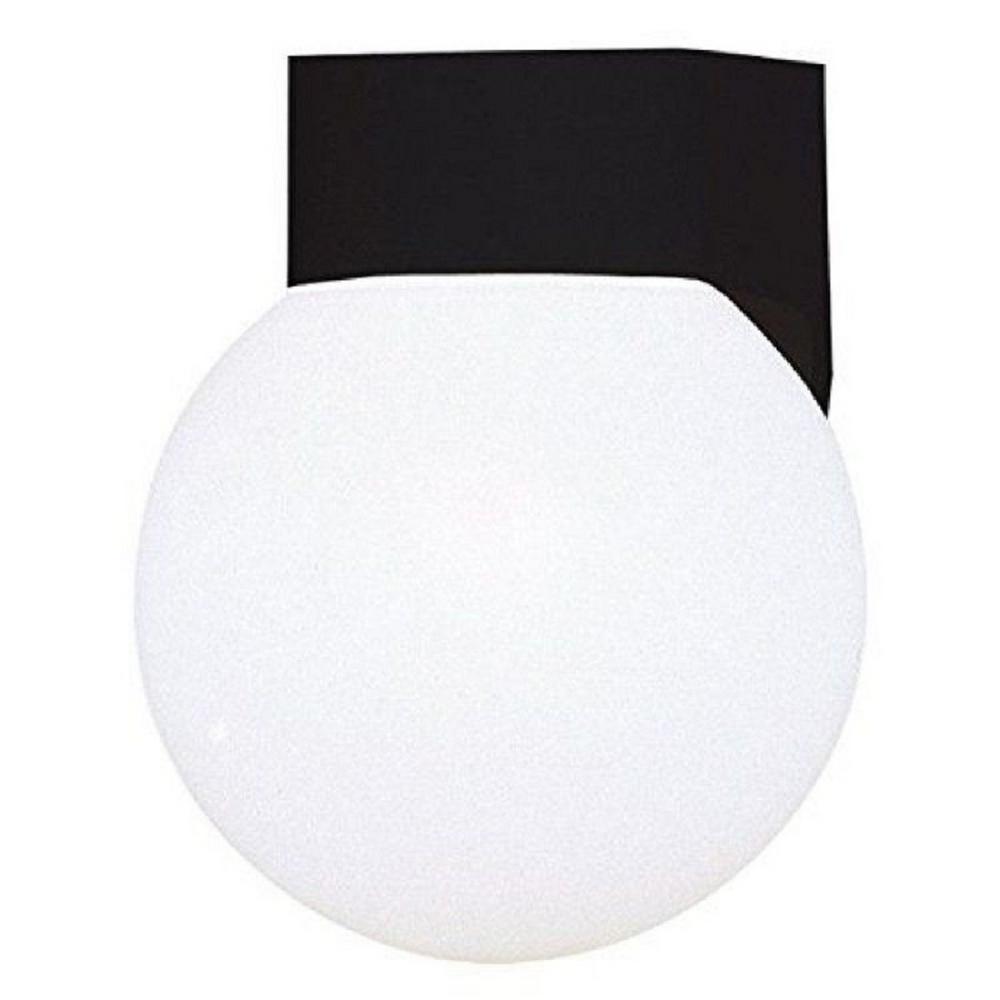Nevaeh 1-Light Black Sconce