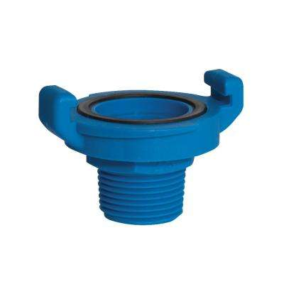3/4 in. Fiberglass Reinforced Nylon Quick Lock Male NPT Coupling