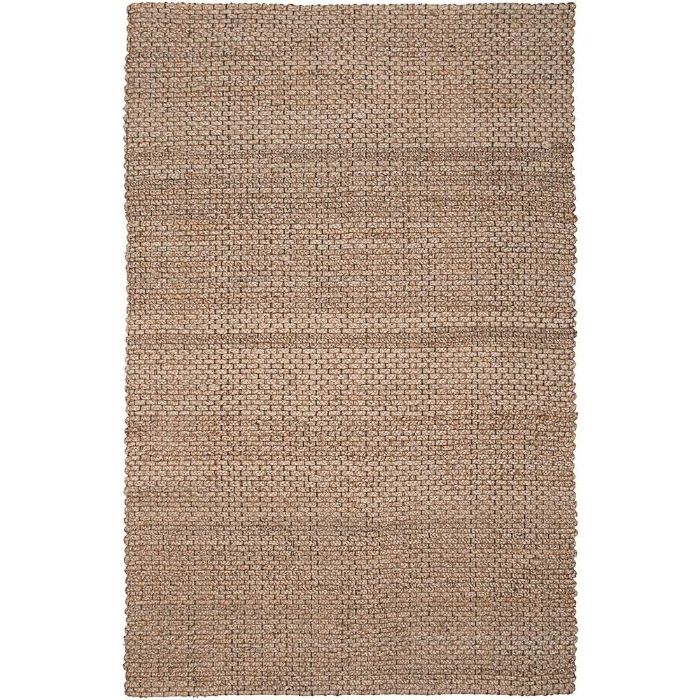 Lr Resources Contemporary Natural 8 Ft X 10 Braided