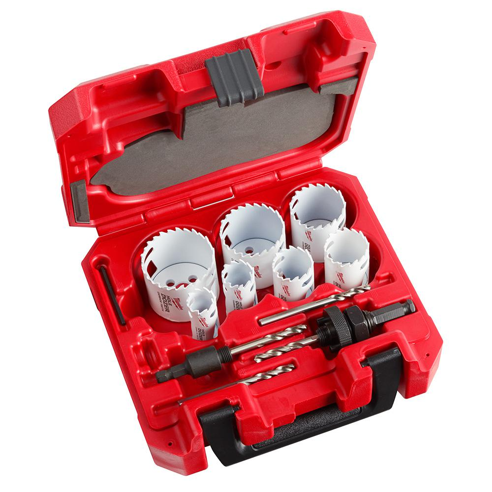Milwaukee Hole Dozer Carbide Hole Saw Set (13-Piece)