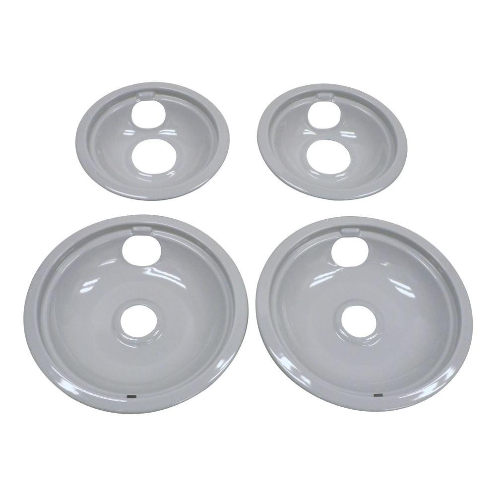 Whirlpool Drip Pan Kit In Grey W10291024 The Home Depot