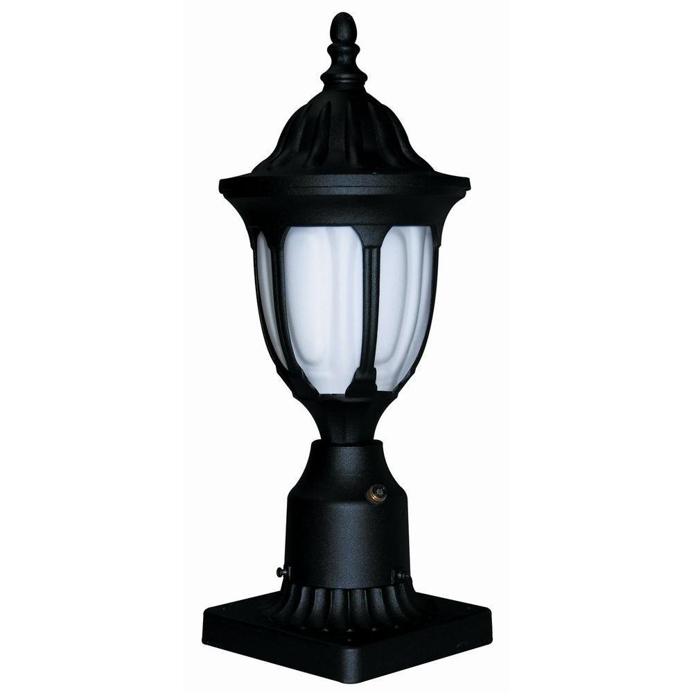 Max Lite Outdoor Black Post Light
