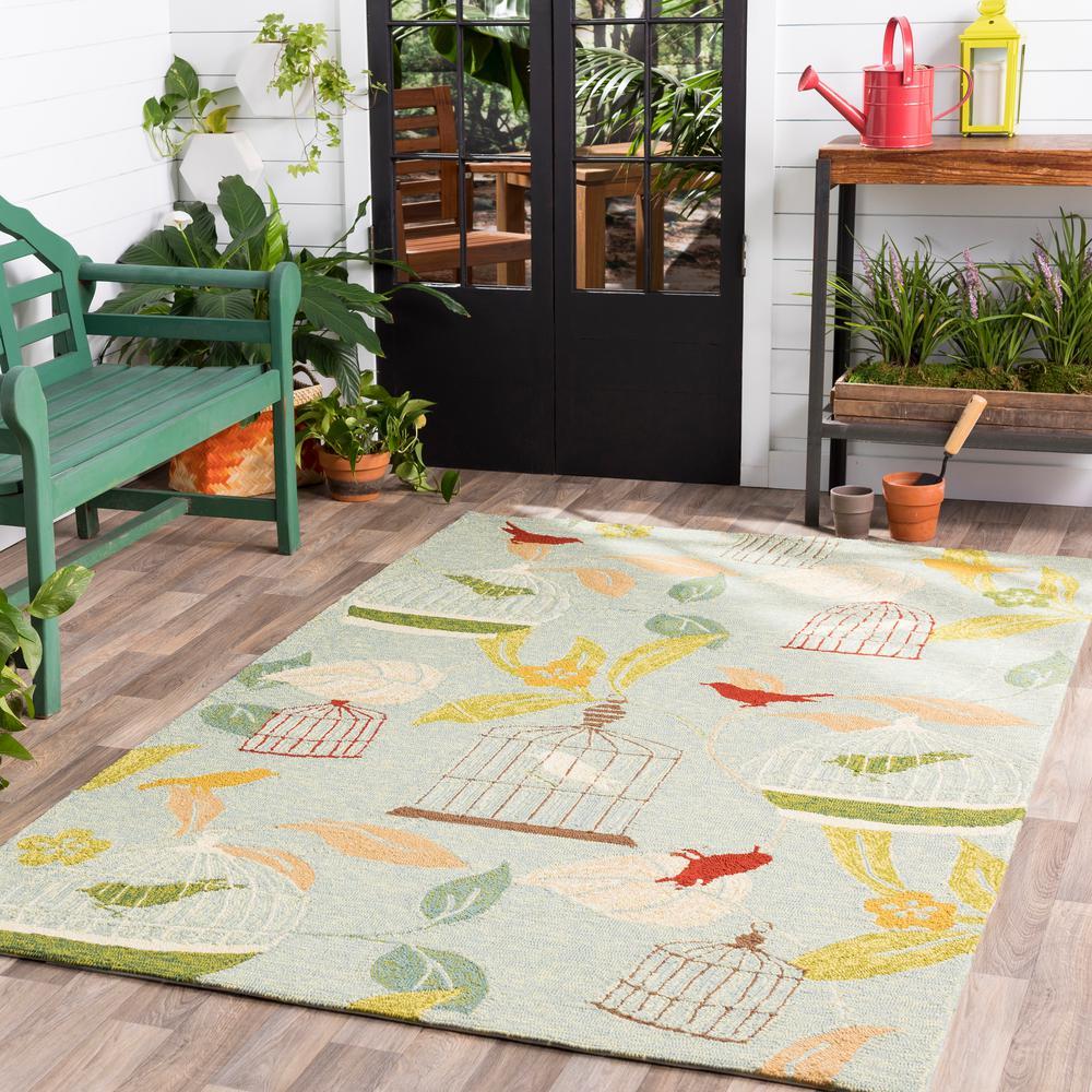Anamudi Moss 8 ft. x 10 ft. Indoor/Outdoor Area Rug