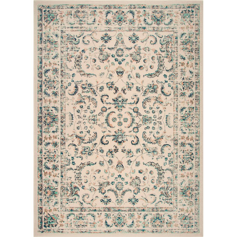 This Review Is From Vintage Ivory 2 Ft X 4 Indoor Area Rug