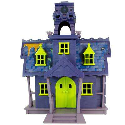 Mystery Mates Deluxe Playset Mystery Mansion with Goo Turret