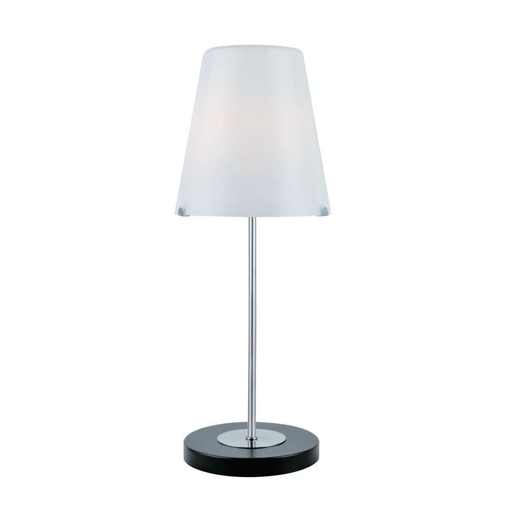 Illumine Designer Collection 23 in. Steel Fluorescent Table Lamp