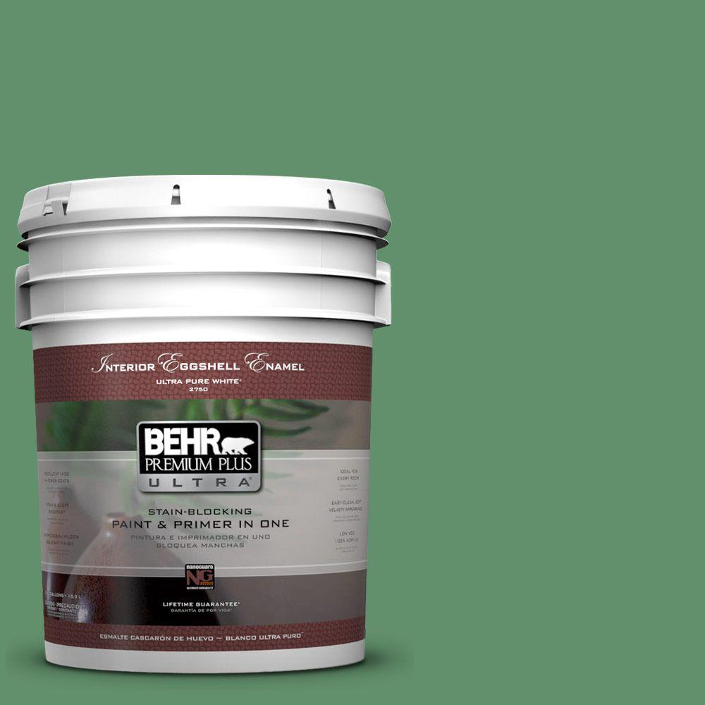 BEHR Premium Plus Ultra 5-gal. #460D-6 Manchester Eggshell Enamel Interior Paint