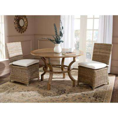 Sebesi Natural Rattan Dining Chair Set Of 2