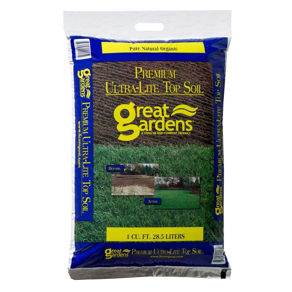 Great Gardens 1 Cu. Ft. Premium Ultra Lite Top Soil