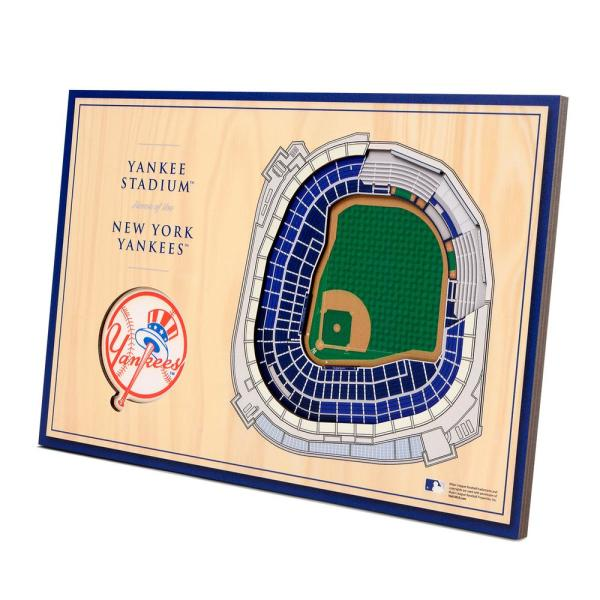 MLB New York Yankees 3D StadiumViews Desktop Display - Yankee Stadium