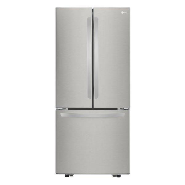 LG  21.8-cubic Foot French Door Refrigerator