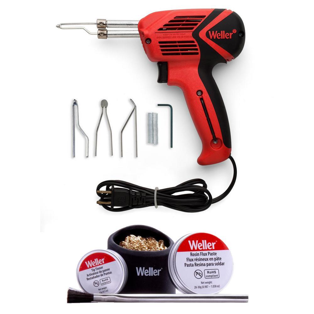 100-Watt/140-Watt Soldering Gun and Accessory Combo Kit