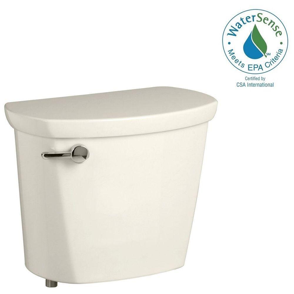 Cadet PRO 1.28 GPF Single Flush Toilet Tank Only in Linen