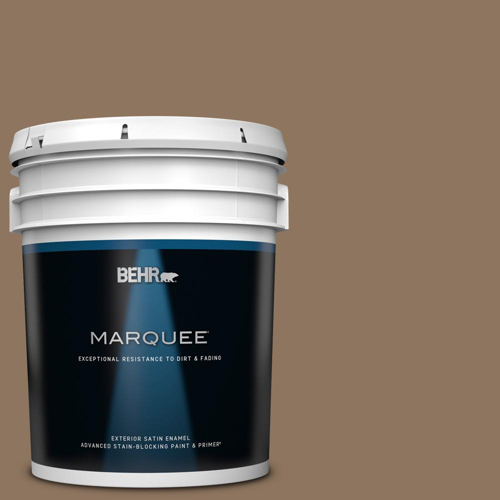 Behr Marquee 5 Gal 700d 6 Belgian Sweet Satin Enamel Exterior Paint And Primer In One 945305 The Home Depot