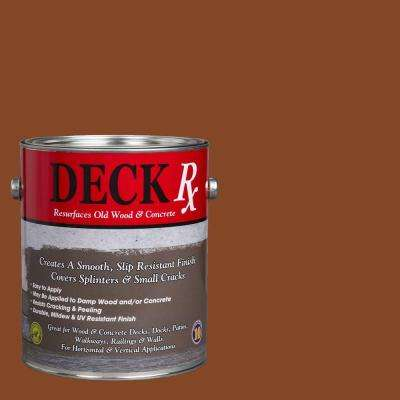 Deck Rx 1 gal. Saddle Wood and Concrete Exterior Resurfacer