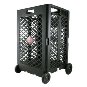 OLYMPIA Pack-N-Roll 11-23/32 inch Mesh Rolling Cart by OLYMPIA