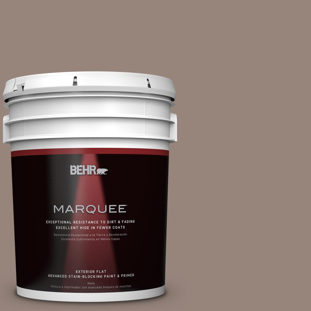 5-gal. #PMD-52 Flower Wood Flat Exterior Paint