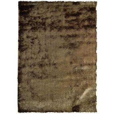 So Silky Meteorite Polyester 9 Ft X 12 Area Rug