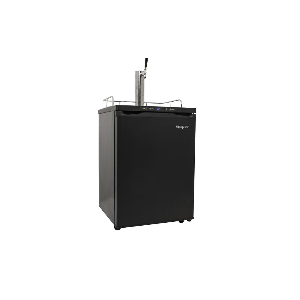 Single Tap 24 in. Full Size Beer Keg Dispenser with Digital