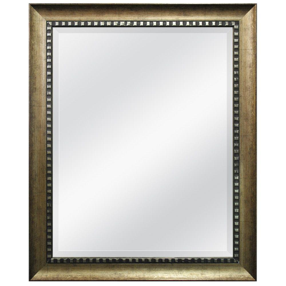 MCS 34 in. x 28 in. Williston Framed Mirror