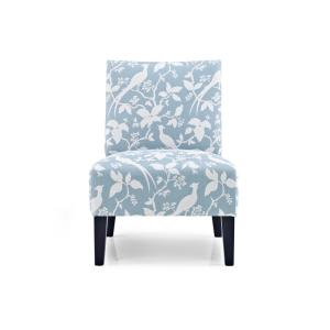 Monaco Robins Egg Bardot Accent Chair by