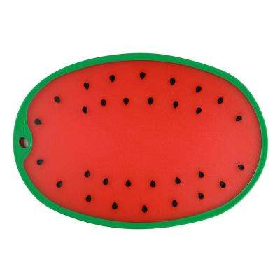 Watermelon Polypropylene Cutting and Serving Board