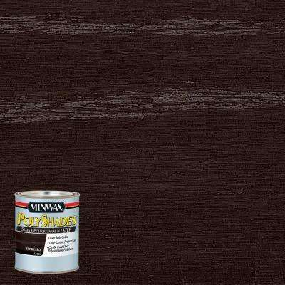 8 oz. PolyShades Espresso Gloss 1-Step Stain and Polyurethane (4-Pack)