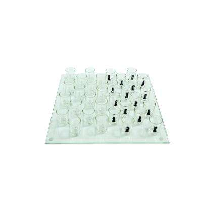 Shot Chess Set and Game Board and Glasses Included