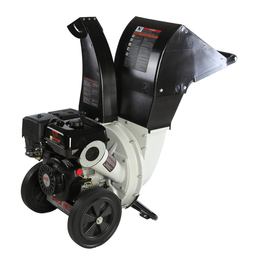 6.5 HP 208cc, 2.25 in. Dia Feed Unique and Versatile 3-in-1