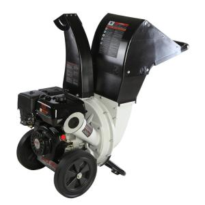 Brush Master 6.5 HP 208cc, 2.25 inch Dia Feed Unique and Versatile 3-in-1 Discharge Chute Chromium Chipper Shredder by Brush Master