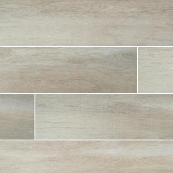 Springwood Bamboo 8 in. x 48 in. Matte Porcelain Floor and Wall Tile (10.66 sq. ft. / case)