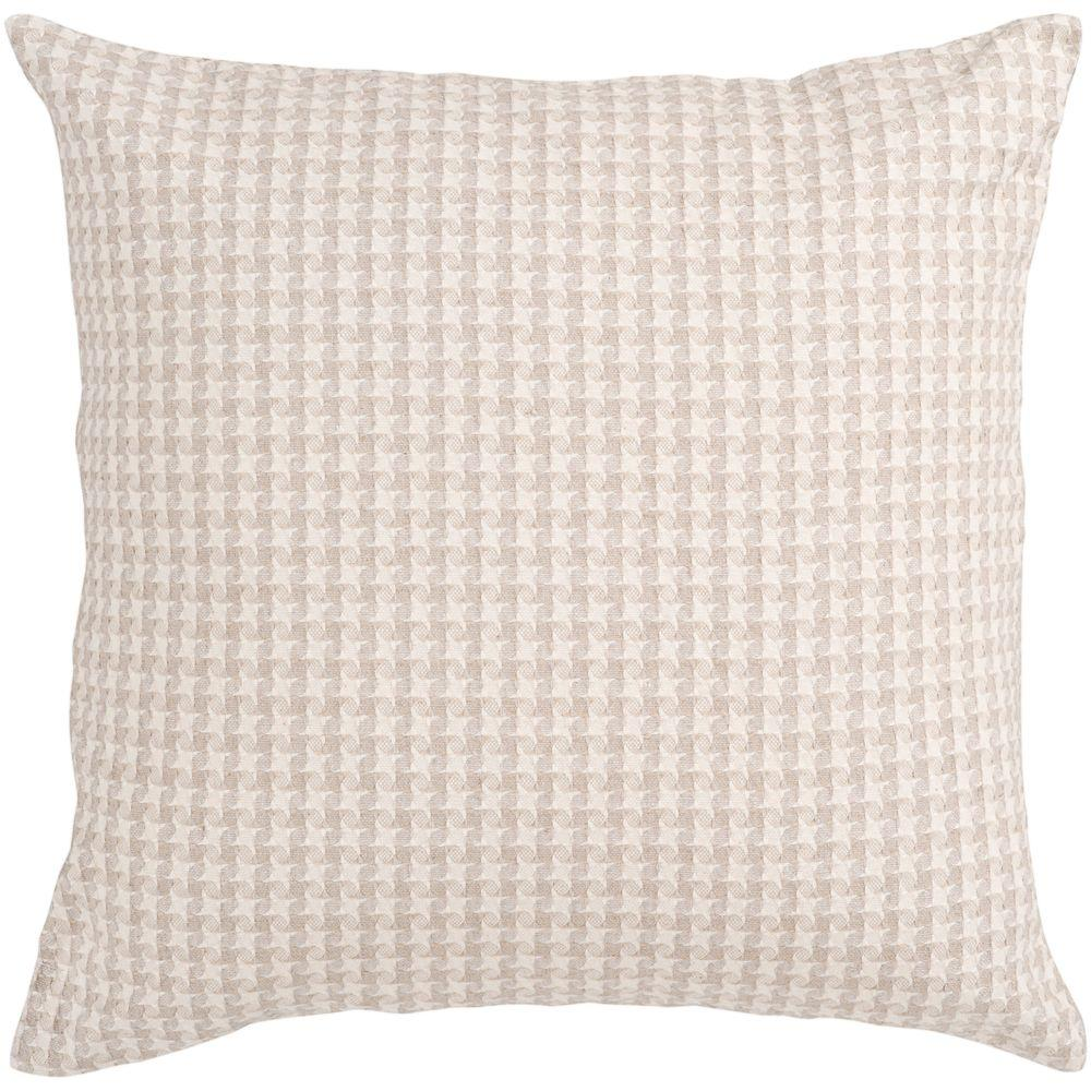 Artistic Weavers Houndstooth 22 in. x 22 in. Decorative Down Pillow