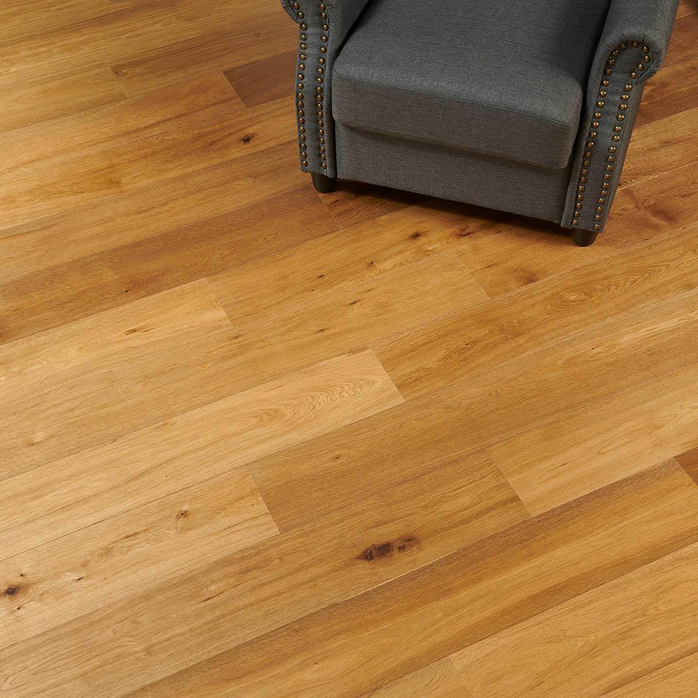 Take Home Sample - Bridgewater Oak Engineered Hardwood Flooring - 7-7/16 in. x 8 in.