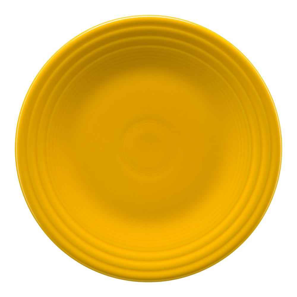 Fiesta Fiesta Daffodil Luncheon Plate, Yellow