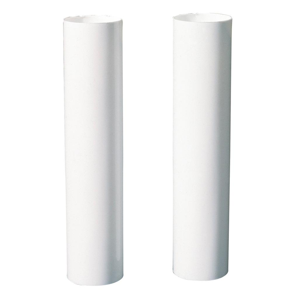 Plastic Light Covers >> Commercial Electric 4 In White Socket Covers 2 Pack