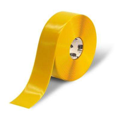 3 in. Yellow Heavy-Duty Floor Tape 100 ft. Roll