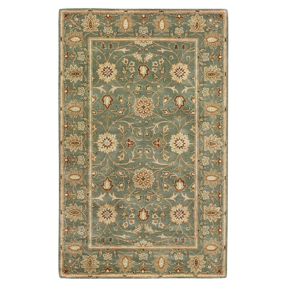 Home Decorators Collection Amboise Sea Green 9 ft. 6 in. x 13 ft. 9 in. Area Rug